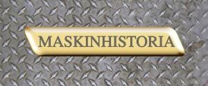 Maskinhistoria