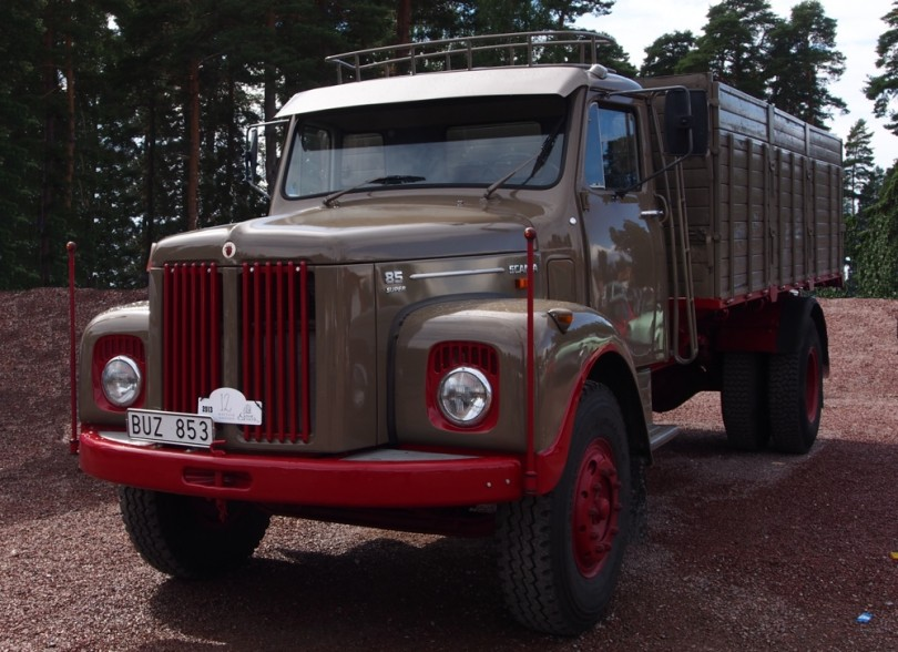Scania L85 super årsmodell 1971.