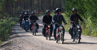 Biltemarallyt 2014 gick på en 5 mil lång slinga nordväst om Västerås.